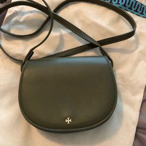 Tory Burch mini saddle bag purse